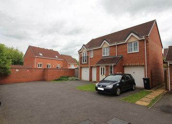 Thumbnail 2 bed maisonette to rent in Hanworth Close, Leicester