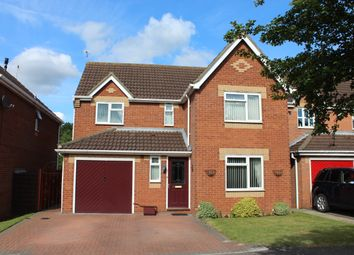 Thumbnail 4 bed detached house for sale in Mallard Court, North Hykeham, Lincoln