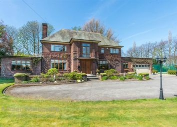 Thumbnail 5 bed detached house for sale in Mustard Lane, Croft, Warrington