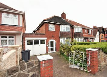 Thumbnail 3 bed semi-detached house for sale in Woodlands Road, Sparkhill, Birmingham