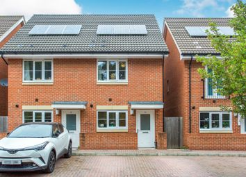 Thumbnail 2 bed semi-detached house for sale in Shafford Meadows, Hedge End, Southampton