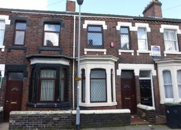 Thumbnail 1 bed terraced house to rent in Room 2, St John Street, Stoke-On-Trent, Staffordshire