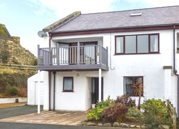 Thumbnail 4 bed semi-detached house for sale in Cae Du Estate, Pwllheli, Wales