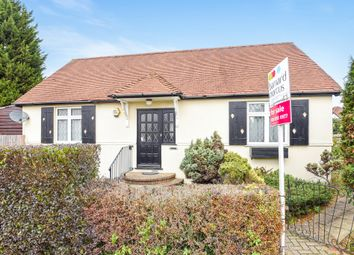 Thumbnail 2 bedroom detached bungalow for sale in Highfield Drive, Ewell, Epsom