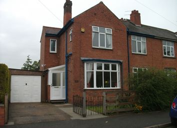Thumbnail 3 bed semi-detached house to rent in Connaught Road, Gainsborough