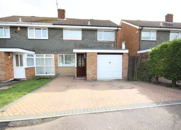 Thumbnail 3 bed semi-detached house to rent in Gayland Avenue, Luton