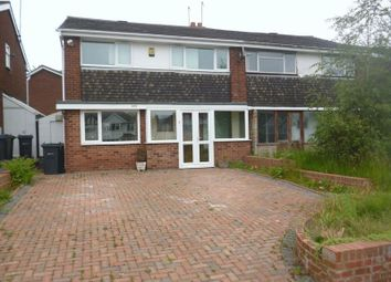 Thumbnail 3 bed semi-detached house to rent in Quinton Road, Harborne, Birmingham
