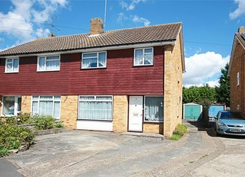 Thumbnail 3 bed semi-detached house for sale in Meadow Way, Sawbridgeworth, Herts