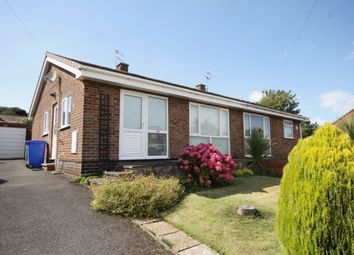 Thumbnail 2 bed semi-detached bungalow for sale in Rowedale Close, Hunmanby, Filey