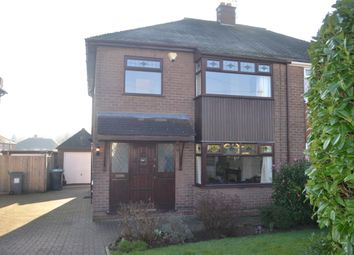 Thumbnail 3 bed semi-detached house for sale in Wenger Crescent, Trentham, Stoke-On-Trent