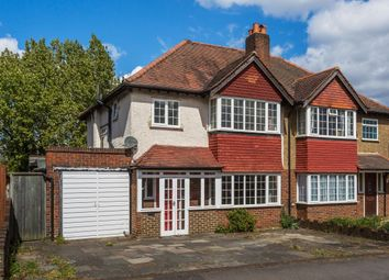 Thumbnail 3 bed semi-detached house for sale in Mulgrave Road, Cheam, Sutton