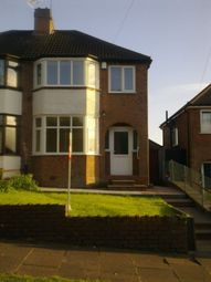 Thumbnail 3 bed semi-detached house to rent in Stanford Ave, Great Barr, Birmingham, West Midlands