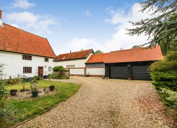 Thumbnail 5 bed detached house for sale in Church Road, Wacton, Norwich
