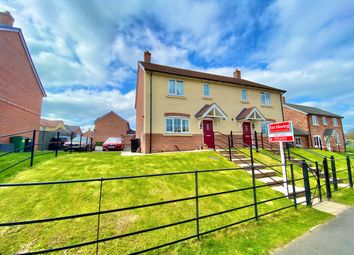 Poplar Close, Wrexham Road, Whitchurch SY13. 3 bed semi-detached house for sale