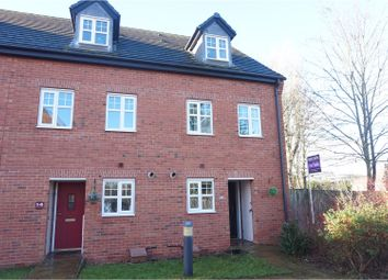 Thumbnail 3 bed town house for sale in Hardy Place, Lichfield