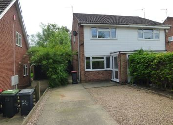 Thumbnail 2 bedroom semi-detached house to rent in Chesham Drive, Bramcote, Nottingham