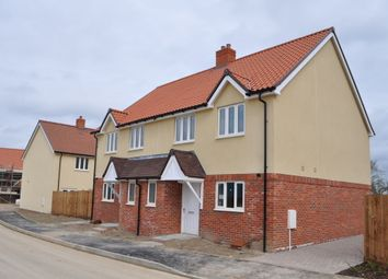 Thumbnail 3 bedroom semi-detached house for sale in Silver Tree Lane, Chedburgh, Bury St Edmund's