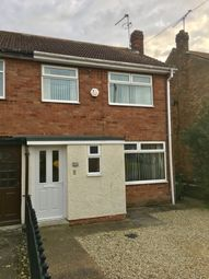 Thumbnail 3 bed semi-detached house to rent in Hazelbarrow Drive, Willerby