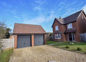 Thumbnail 4 bed detached house for sale in Whaddon Road, Newton Longville, Milton Keynes