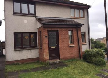 Thumbnail 2 bed semi-detached house to rent in Mayfield Place, Carluke