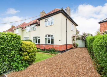 Thumbnail 3 bed semi-detached house for sale in Upper Grange Road, Beccles