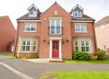 Thumbnail 5 bedroom detached house for sale in Thornborough Way, Hamilton, Leicester