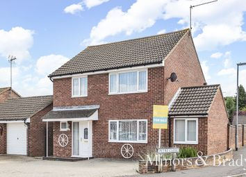 Thumbnail 4 bed detached house for sale in Hazell Road, North Walsham