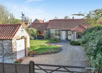 Thumbnail 3 bed detached bungalow for sale in Oasby, Grantham