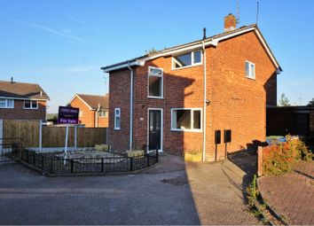 Thumbnail 3 bed detached house for sale in Santon Close, Forest Town