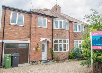 Thumbnail 4 bedroom semi-detached house to rent in Anthea Drive, Huntington, York