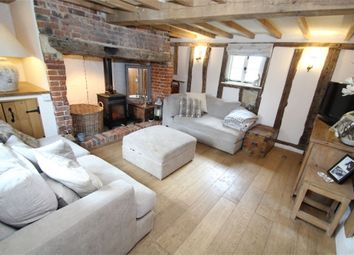 Thumbnail 3 bed cottage for sale in Water Run, Hitcham, Ipswich, Suffolk