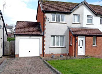 Thumbnail 2 bed semi-detached house for sale in Berkeley Grange, Carlisle