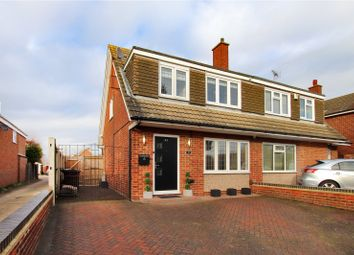 3 bed semi-detached house for sale in Hever Court Road, Gravesend, Kent DA12