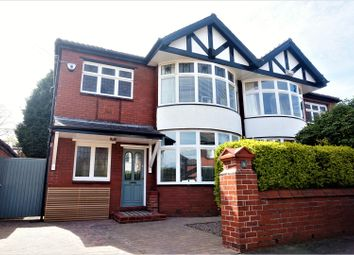 Thumbnail 4 bed semi-detached house for sale in Marlowe Drive, Manchester