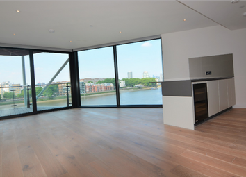 Thumbnail 3 bed flat to rent in Riverlight, Nine Elms, London