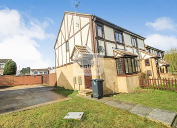Thumbnail 3 bed terraced house to rent in Perrymead, Wigmore, Luton