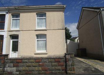 Thumbnail Semi-detached house for sale in Brynawel Road, Ystradgynlais, Swansea.