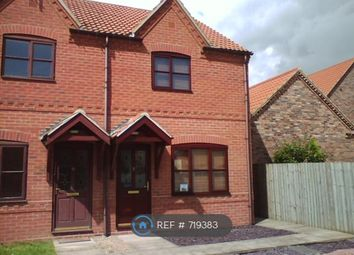 Thumbnail 2 bedroom semi-detached house to rent in The Brambles, Newton-On-Trent, Lincoln