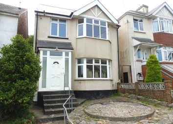 Thumbnail 3 bed detached house to rent in Blatchcombe Road, Paignton