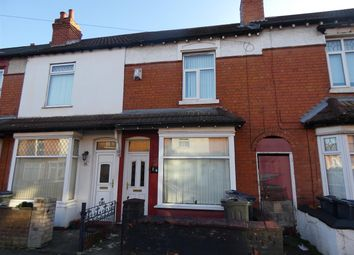Thumbnail 3 bed terraced house to rent in Lily Road, Yardley, Birmingham