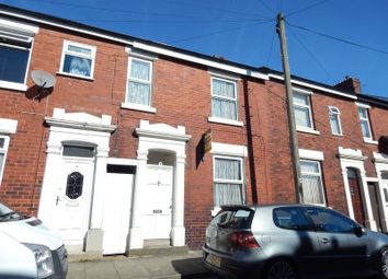 Thumbnail 3 bed terraced house for sale in Leicester Road, Preston