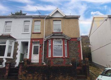 Thumbnail 3 bedroom end terrace house for sale in Gynor Avenue, Porth