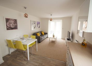 Thumbnail 2 bed flat for sale in Endevour House, 1B Elmira Way, Media City, Salford