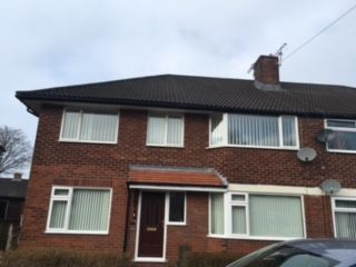 Thumbnail 2 bedroom flat to rent in Burns Avenue, Bury