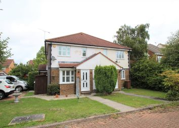 Thumbnail 1 bed semi-detached house for sale in Shelduck Close, Watermead, Aylesbury