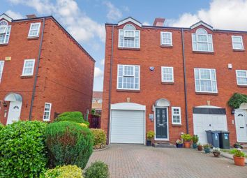 Thumbnail 3 bed town house for sale in Brock Farm Court, North Shields