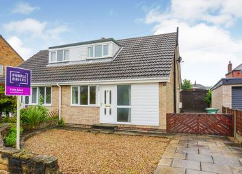 Thumbnail 2 bed semi-detached house for sale in Morwick Grove, Scholes