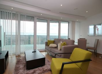 Thumbnail 2 bedroom flat to rent in Arena Tower, Crossharbour Plaza, Canary Wharf