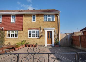 Thumbnail 3 bed end terrace house for sale in The Grovelands, Lancing, West Sussex