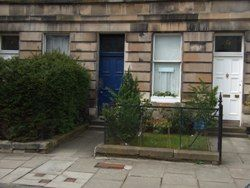 Thumbnail 4 bed flat to rent in Eyre Crescent, New Town, Edinburgh